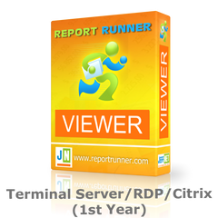 Report Runner Viewer Terminal Server/RDP/Citrix License
