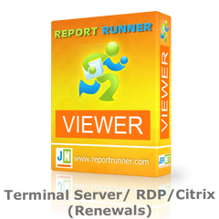 Report Runner Viewer Terminal Server/RDP/Citrix License Renewals