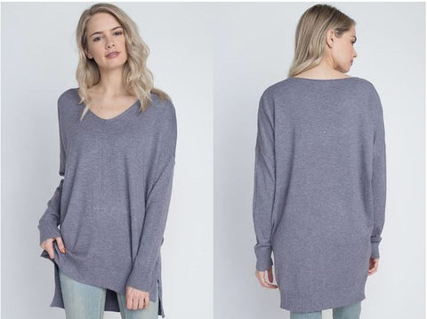 Super Soft V-Neck Sweater