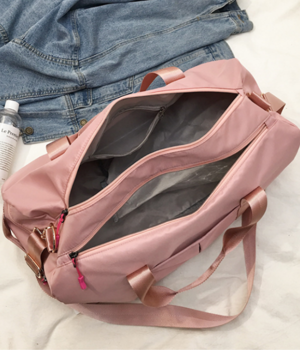 Nailah Pink Sports Bag