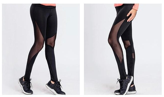 Raven Black Dance Leggings