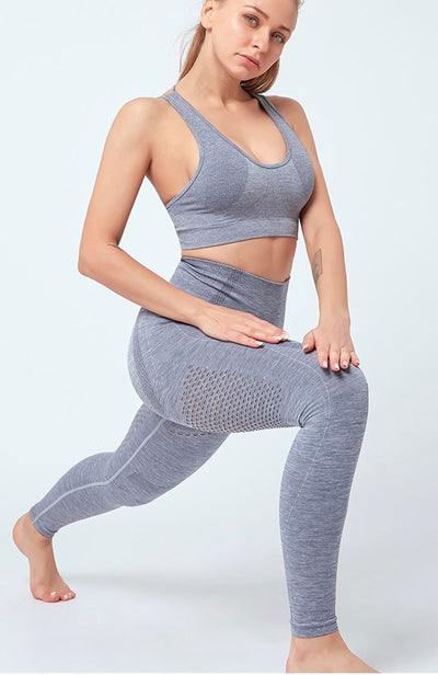 Aria Seamless Light Grey Set