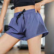 Urbano Navy Blue Running Shorts