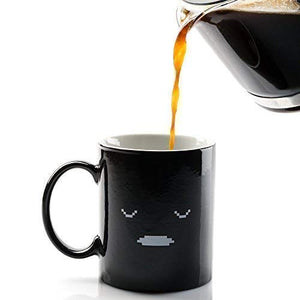 Heat Sensitive Mug With Funny Smile