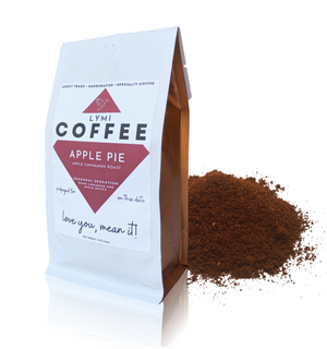 APPLE PIE - APPLE CINNAMON GROUND COFFEE (12oz)