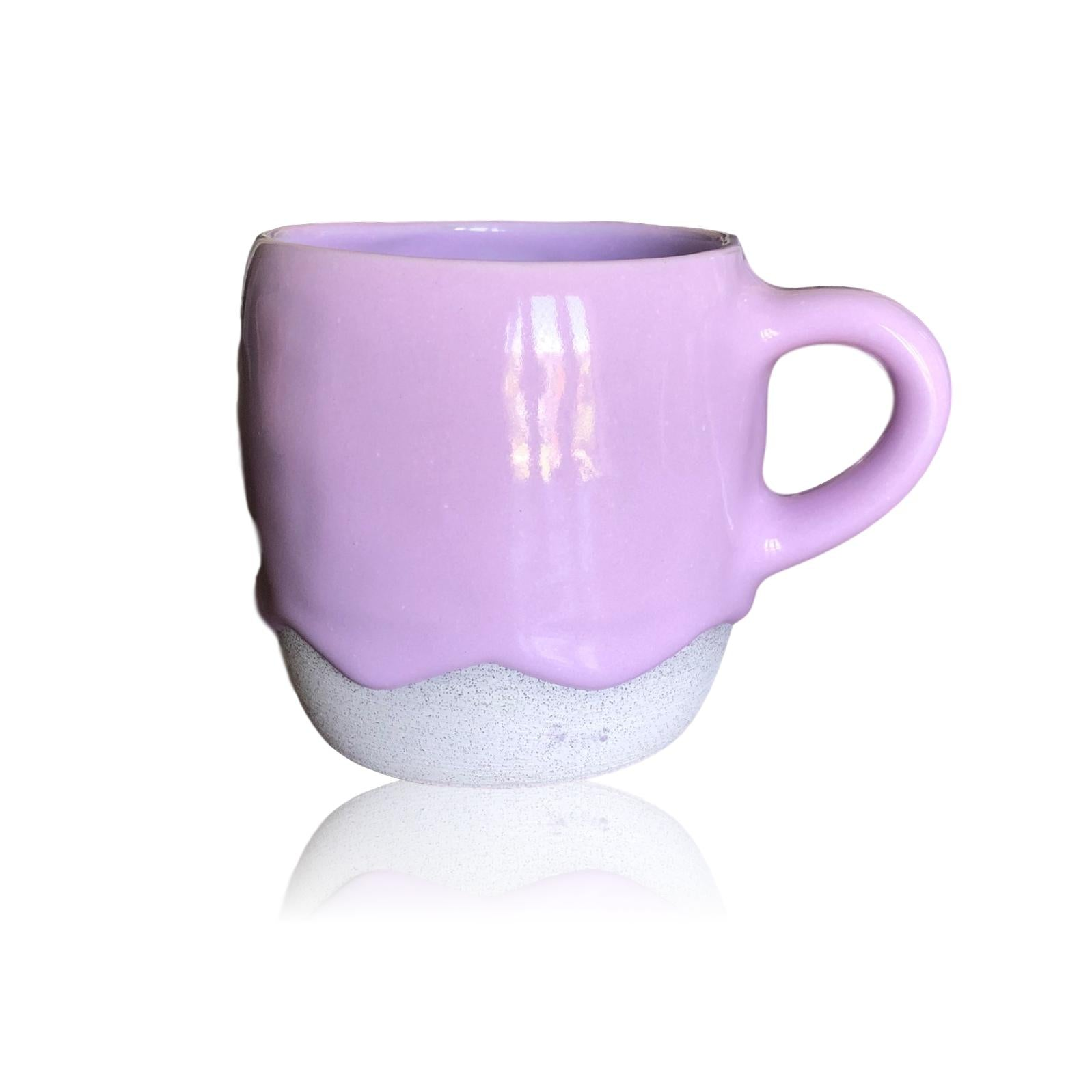 Lady Lavender Ceramic Rounded Mug