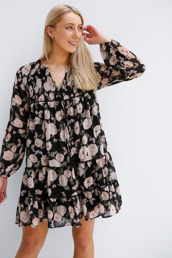 Blooming Chic Dresss  (33589)