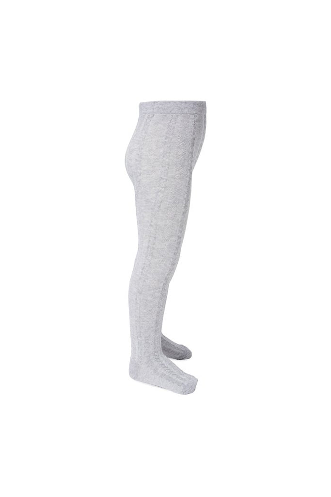Cotton Tights - Grey