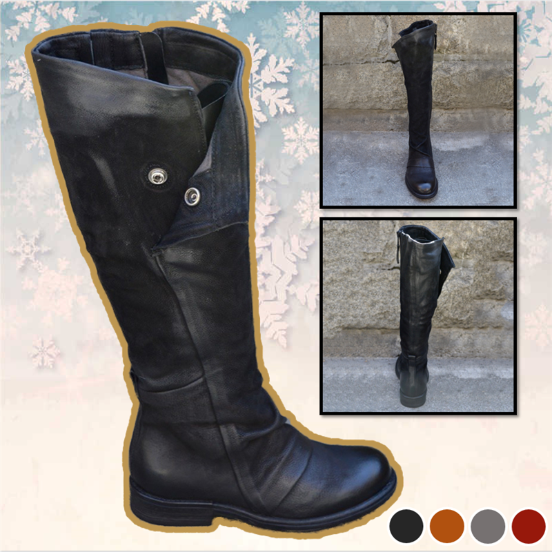 Women's Leather Fashion Boots