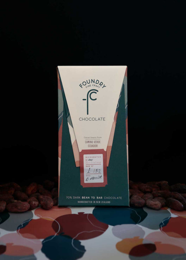 Foundry Chocolate Camino Verde Ecuador 70% Dark Chocolate