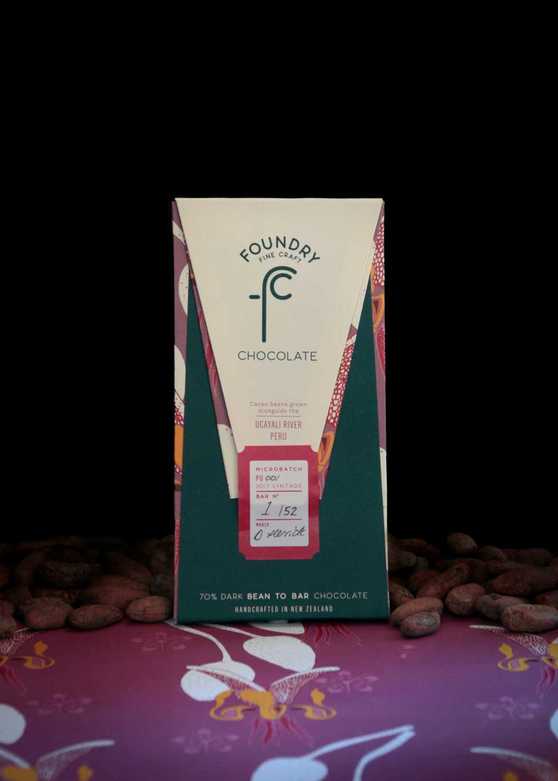 Foundry Chocolate Ucayali River Peru 70% Dark Chocolate