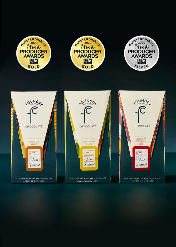 Outstanding NZ Food Producer Awards - Medal winners three pack