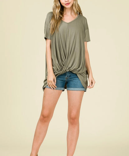 KNOTTY RELAXED TEE