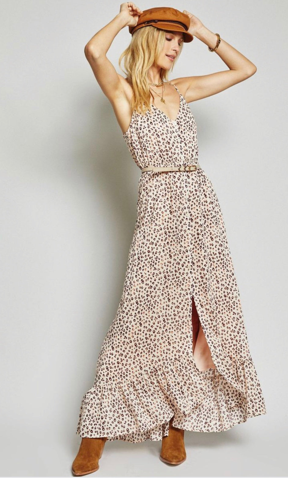 REBEL HEARTS MAXI DRESS