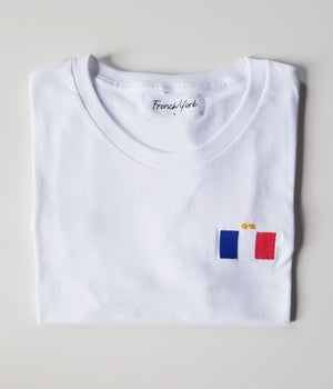 Women T-shirt flag