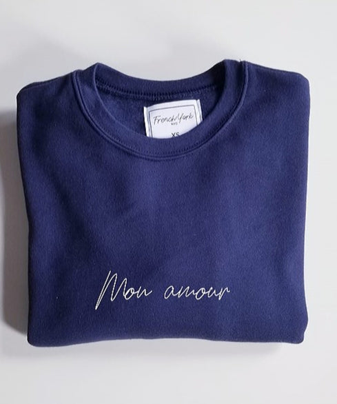 Women Sweater Mon amour