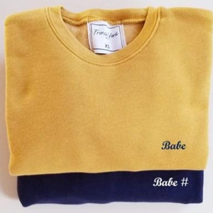 Match Sweater Babe  women