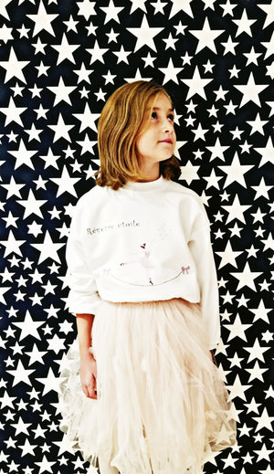 Kids sweater Girl Rêveuse étoile