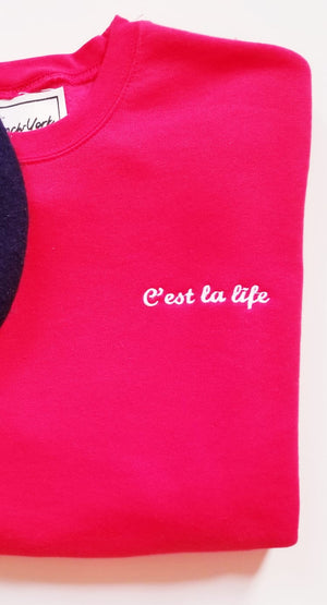 Women Sweater C'est la life