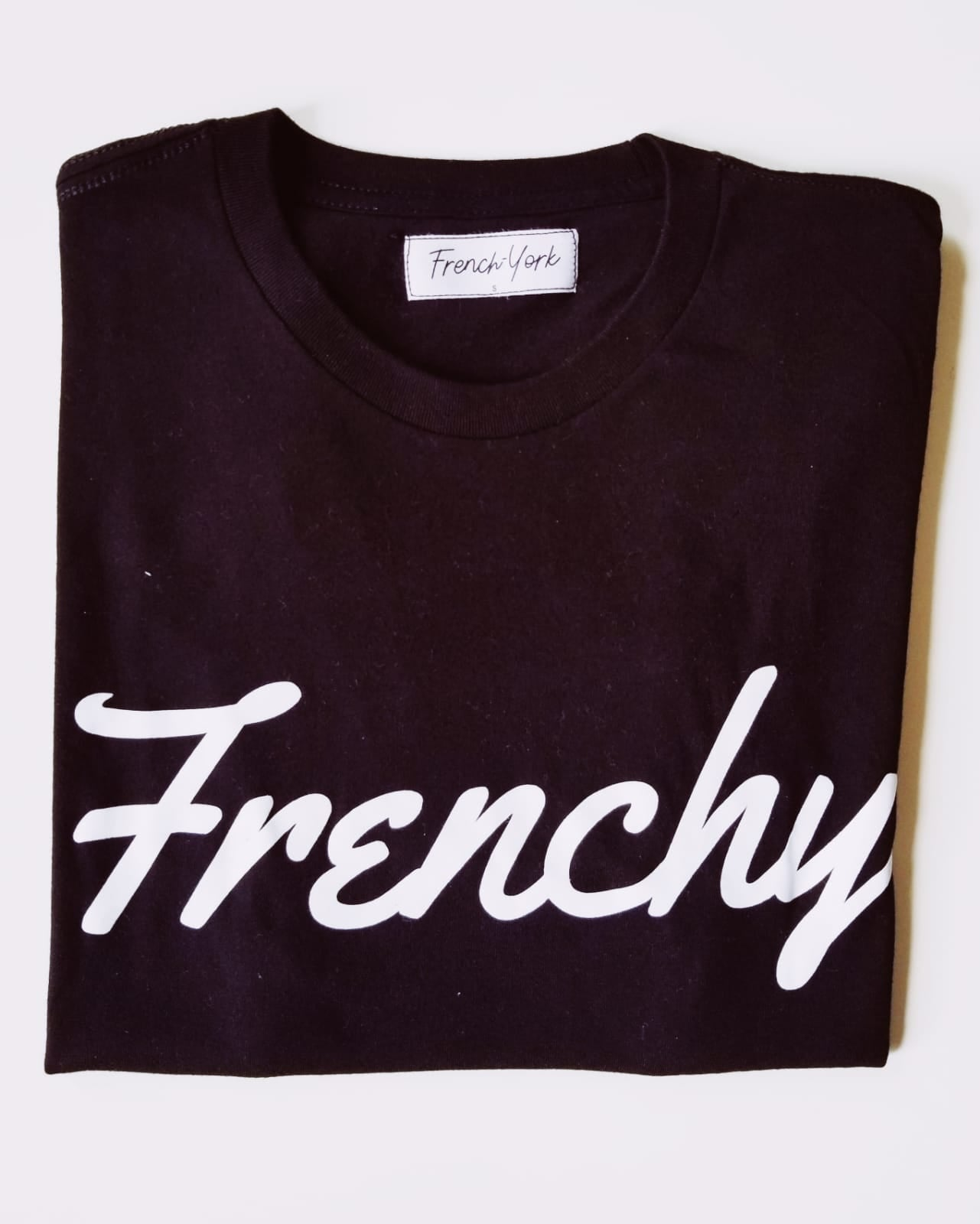 Men T-shirt Frenchy Black