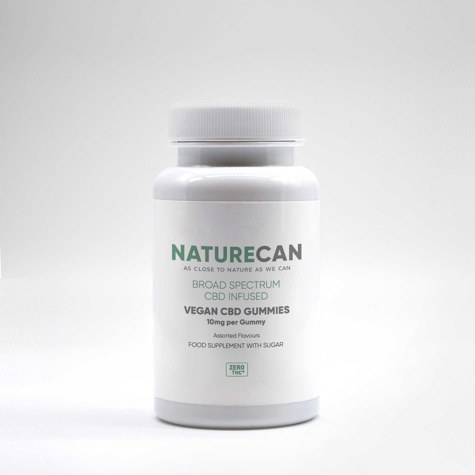 Vegan CBD Gummies-Naturecan RU