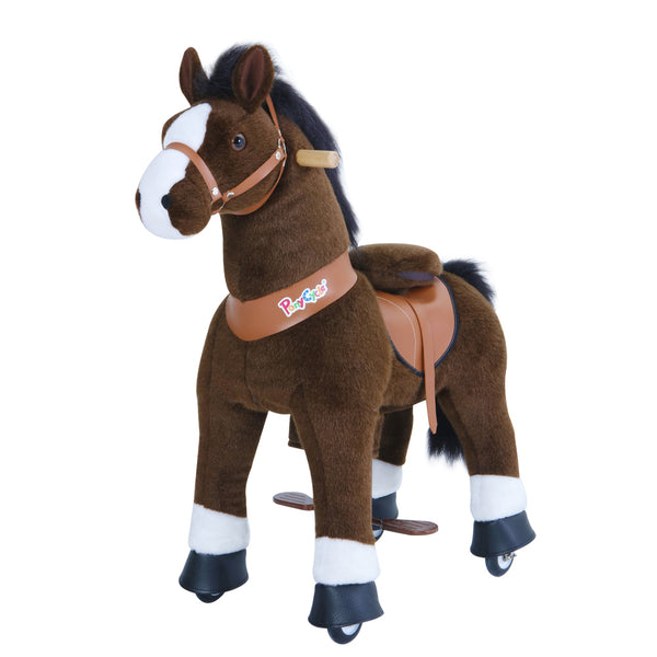 PonyCycle Dark Brown Horse