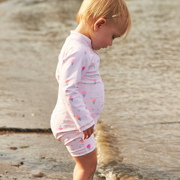 Ice Cream Shortall Swimsuit