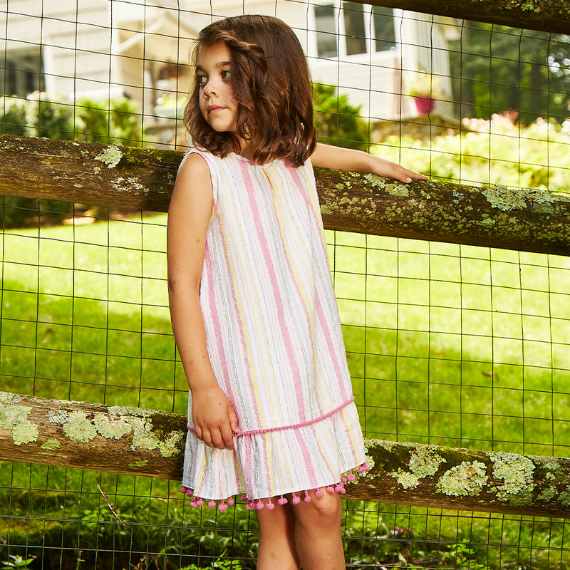 Pink Stripe Xena Dress