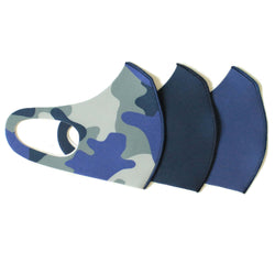 Blue Adult Mask Set