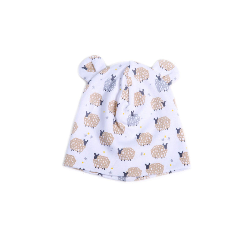 Sheep Print Jersey Hat