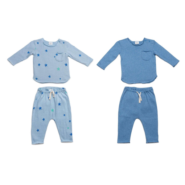 Blue Stars New Baby Gift Bundle