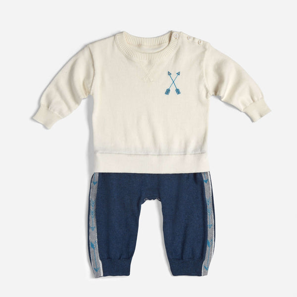 Archer's Bow Arrow Jogging Onesie