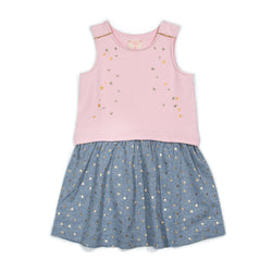 Metallic Star Makie Dress