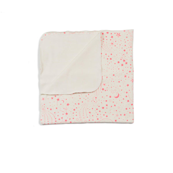Pink Star Bobbi Knit Blanket