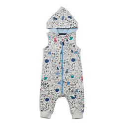 Sea Life Ziggy Hooded Romper