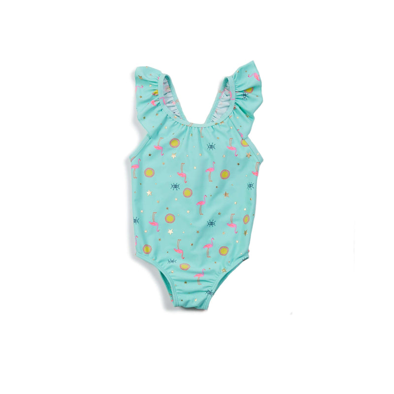 Aqua Flamingo Emma One Piece
