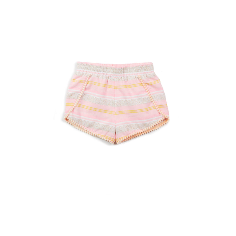 Pink Stripe Valerie Short