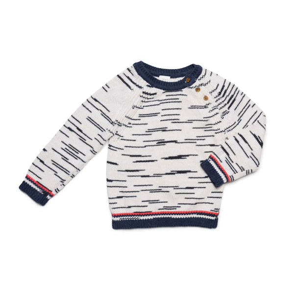 Striped Cotton Eli Sweater