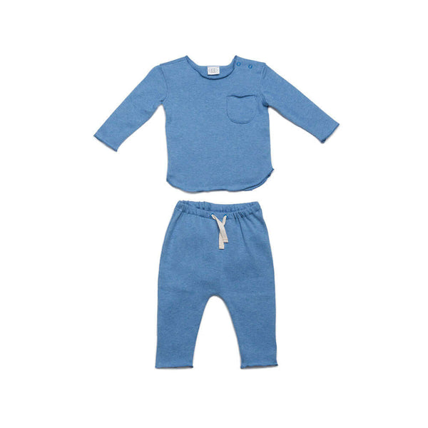 Blue Bobbi Set