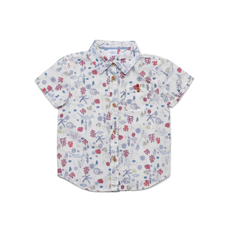 Seaside Print Adrian Shirt