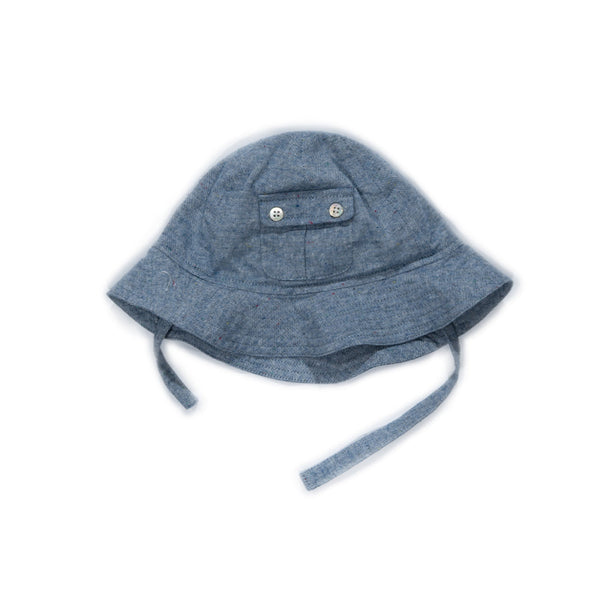 Denim Poppy Hat