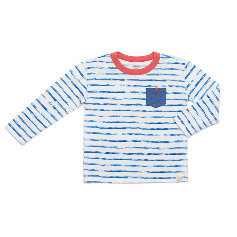 Striped Declan Tee