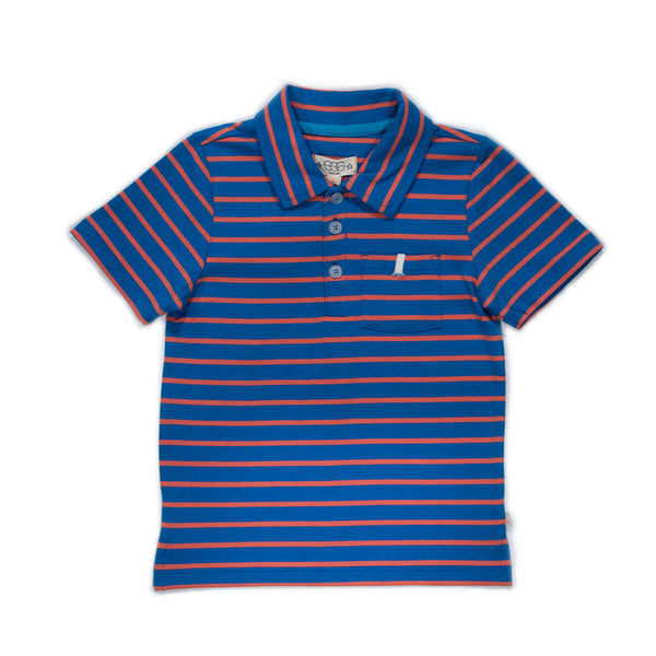 Striped Harrison Polo