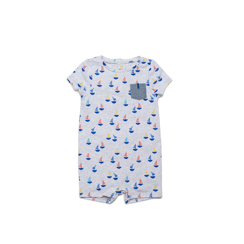 Sailboat Willie Romper