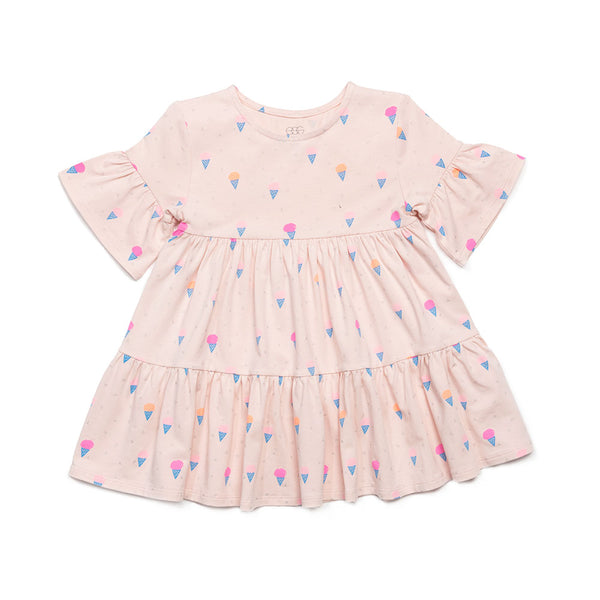 Ice Cream Print Miranda Dress