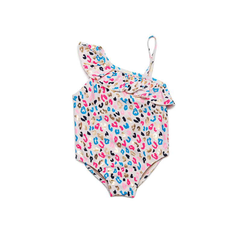 Multi Leopard Belle One Piece Swimsuit