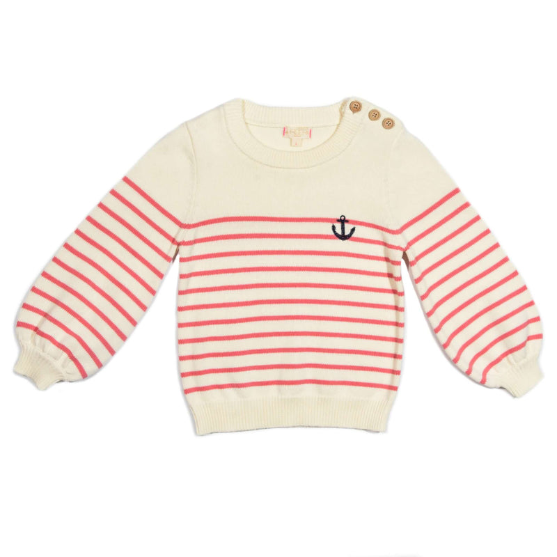 Anchor Striped Saylor Sweater