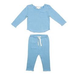 Baby Blue Bobbi Set