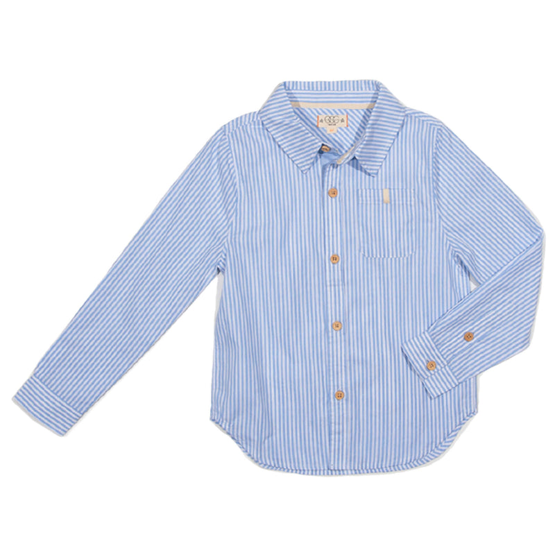 Blue Stripe Brendan Shirt