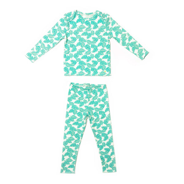 Palm Print Tegan Set